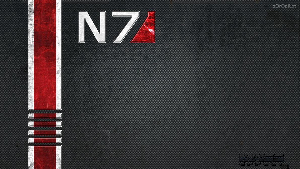 N7 Wallpaper By Z3r0p1lot On DeviantArt