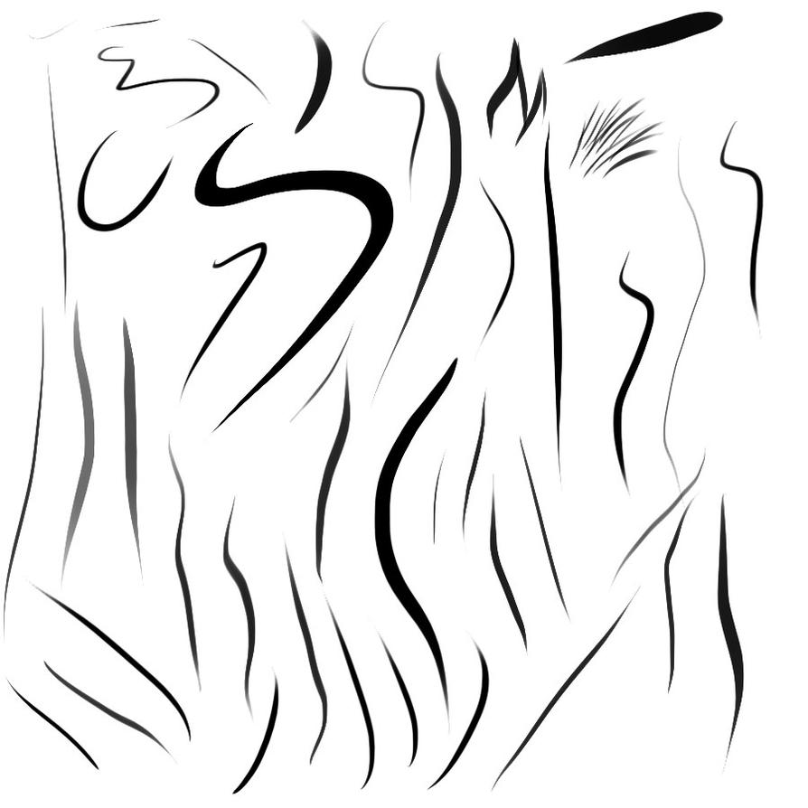 Paint tool SAI ink brush for Photoshop by Weiss-Schwarz on