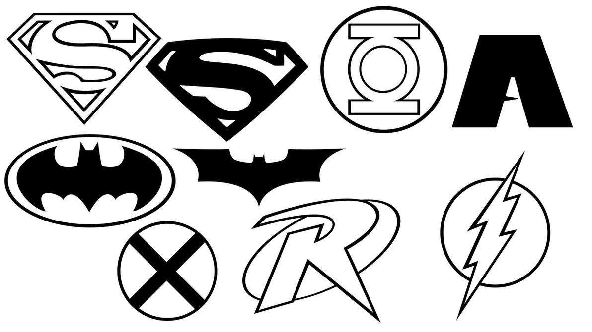 Justice Emblem Shapes by the-big-al on DeviantArt