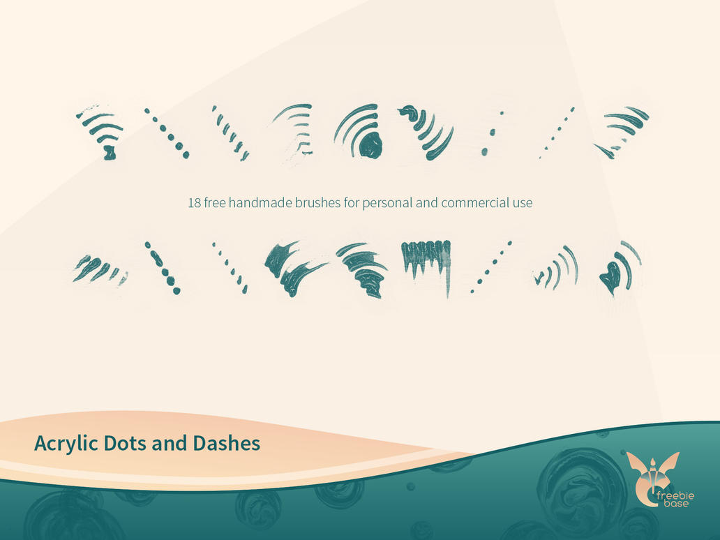 acrylic dots and dashes link
