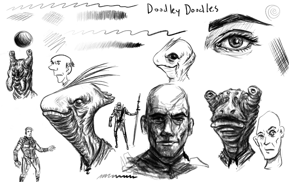 sketchy pencil brushes by thesadpencil on DeviantArt