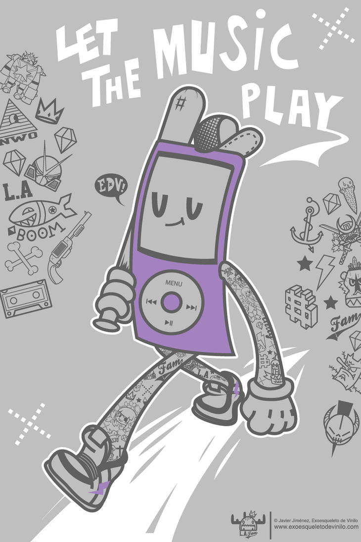 Let the music play. Free Cell Phone Wallpaper by