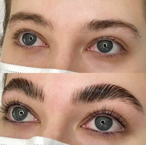 Brow Lamintion and Lash Lift and Tint