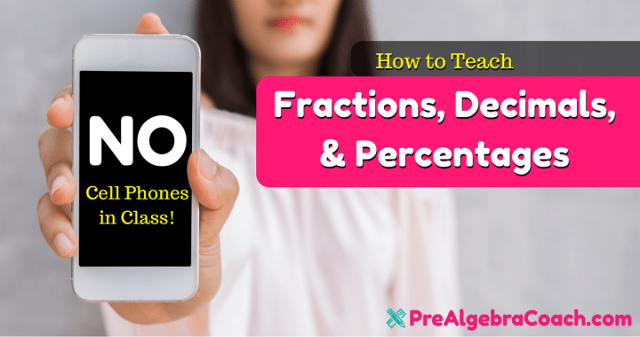 Fractions, Decimals, & Percentages