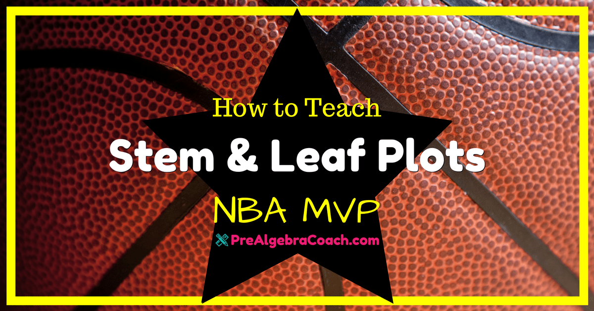 Stem and Leaf Plots – NBA MVP