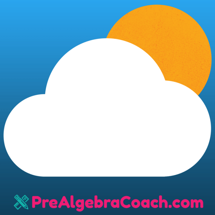 Activity Cloud - Pre-Algebra Coach