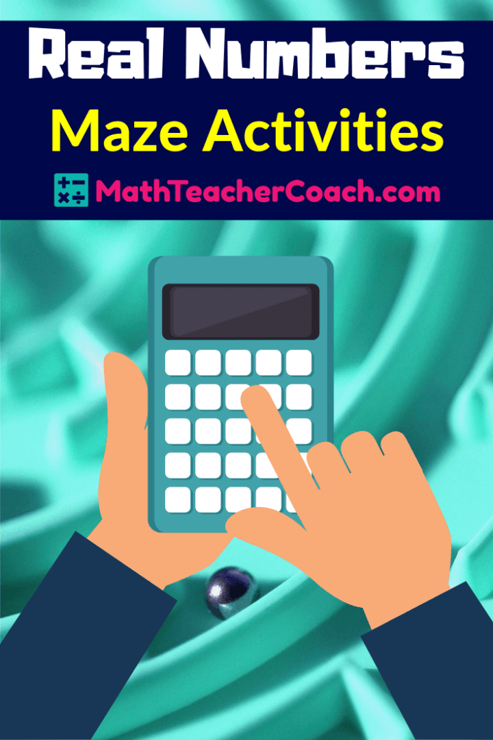 Real Number System Maze Activities Prealgebracoach Com