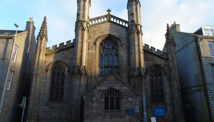 Aberdeen Trip Part 4 – Mercat Cross, St Andrew Cathedral