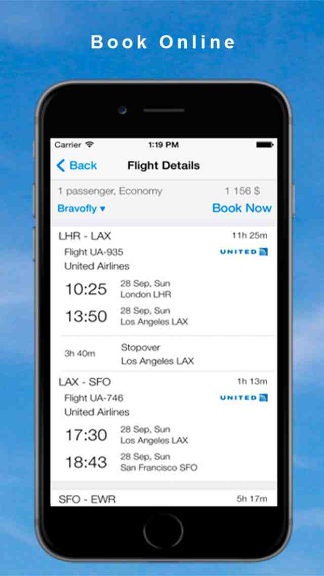 Cheap Flights Find Compare prices Book online App for iPhone - New iPhone Travel App