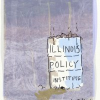 The symbiotic relationship between the Trib and the Illinois Policy Institute.