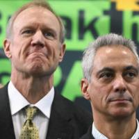 Breaking: Rauner says Chicago teachers are illiterate and principals incompetent.