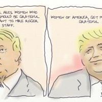 Trump. Women at Fox should be grateful.