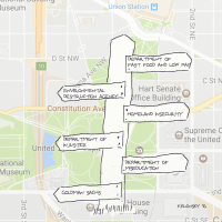 D.C. map.