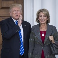 "If Betsy DeVos is a friend of a NEA ""friend of education"" is she a friend too?"