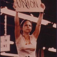 """Norma Rae"" Crystal Lee Sutton. RIP."