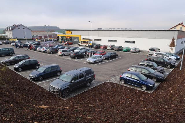 Abbildung des Objektes Discountmarkt in Waldbüttelbrunn der PREBAG AG