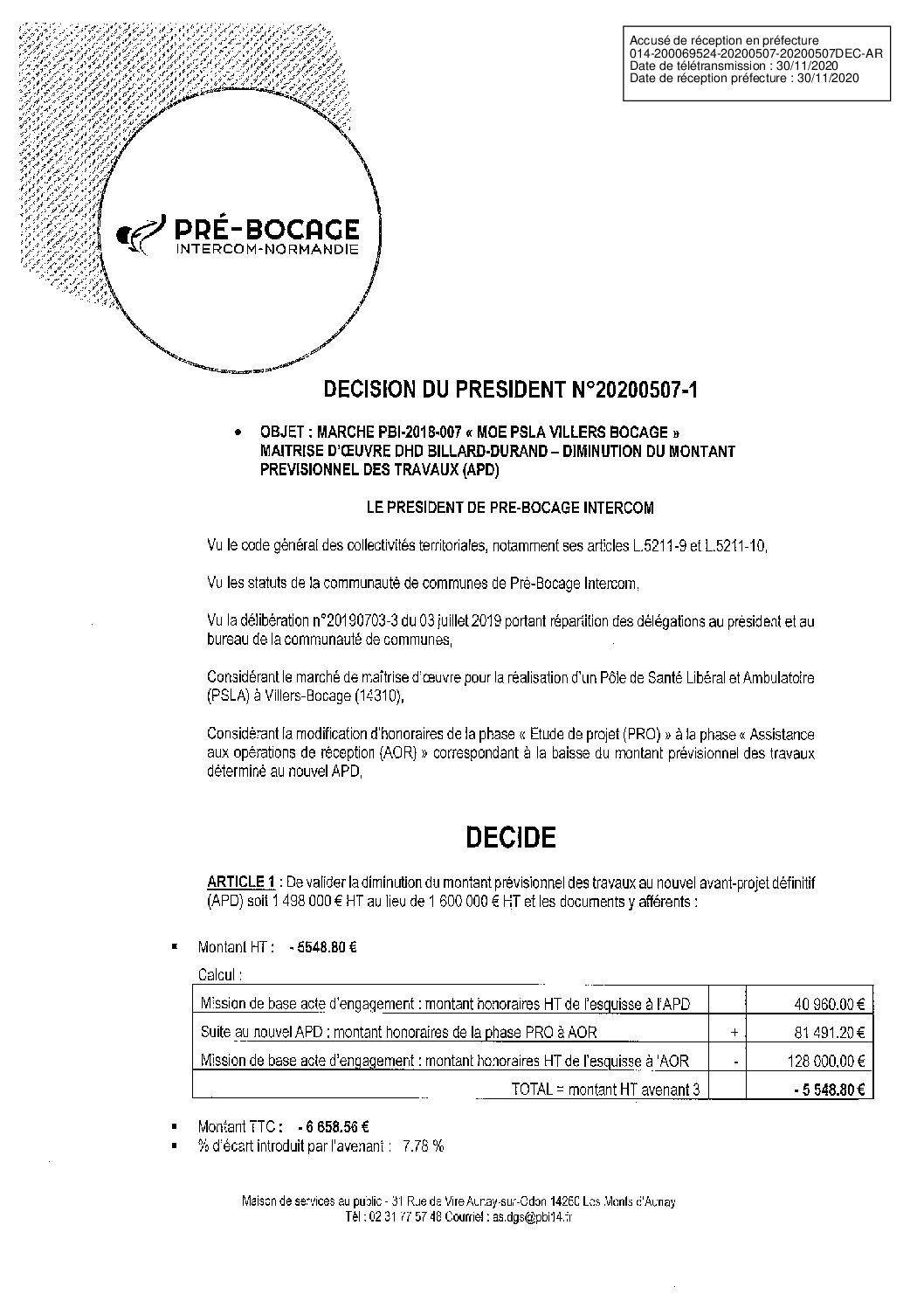 Décision déléguée du 7 mai 2020