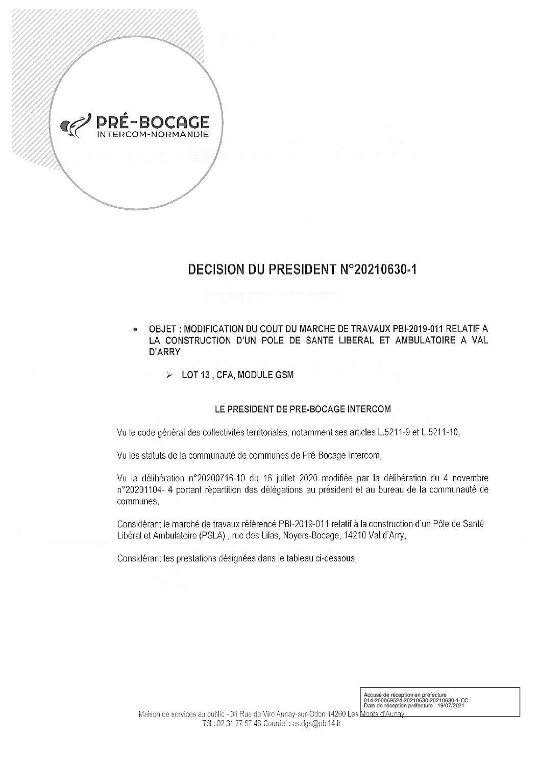 Décision déléguée du 30 juin 2021
