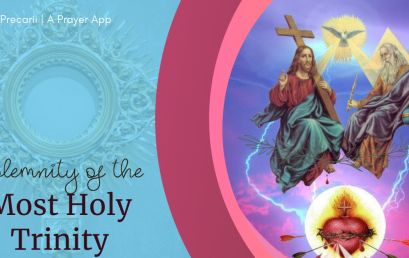 Solemnity of the Most Holy Trinity