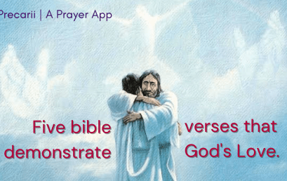 5 Bible Verses that Demonstrates God Unconditional Love