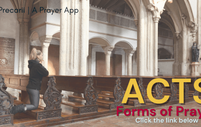 ACTS: Forms of Prayer