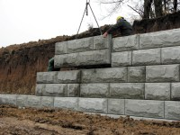 Gravity Stone Retaining Wall. Good Gallery With Gravity ...
