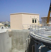 Precast Concrete Pump House