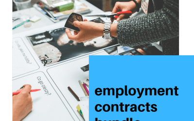 A comprehensive collection of 6 must have Contracts for Employment
