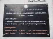 horaires pompei