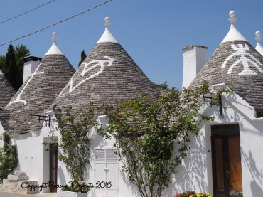 trulli alberobello toit