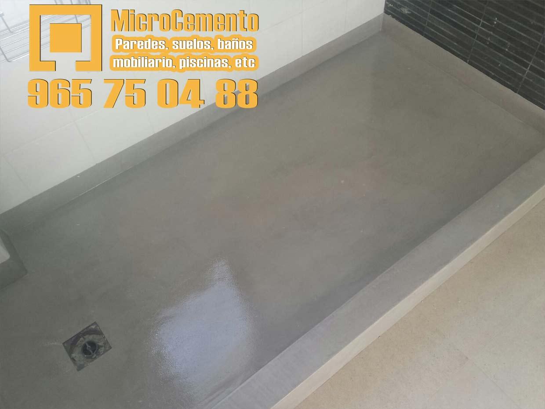 Precio Microcemento  para baos suelos paredes en Denia