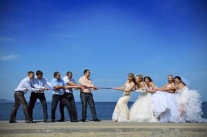 結婚式に招待された友人