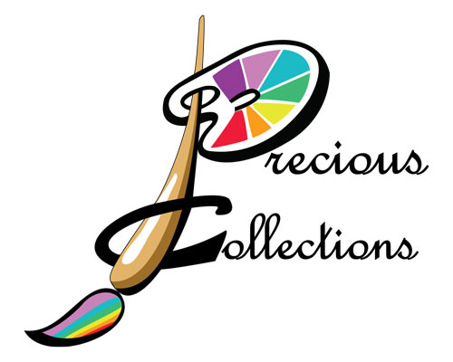 precious collections face painting logo