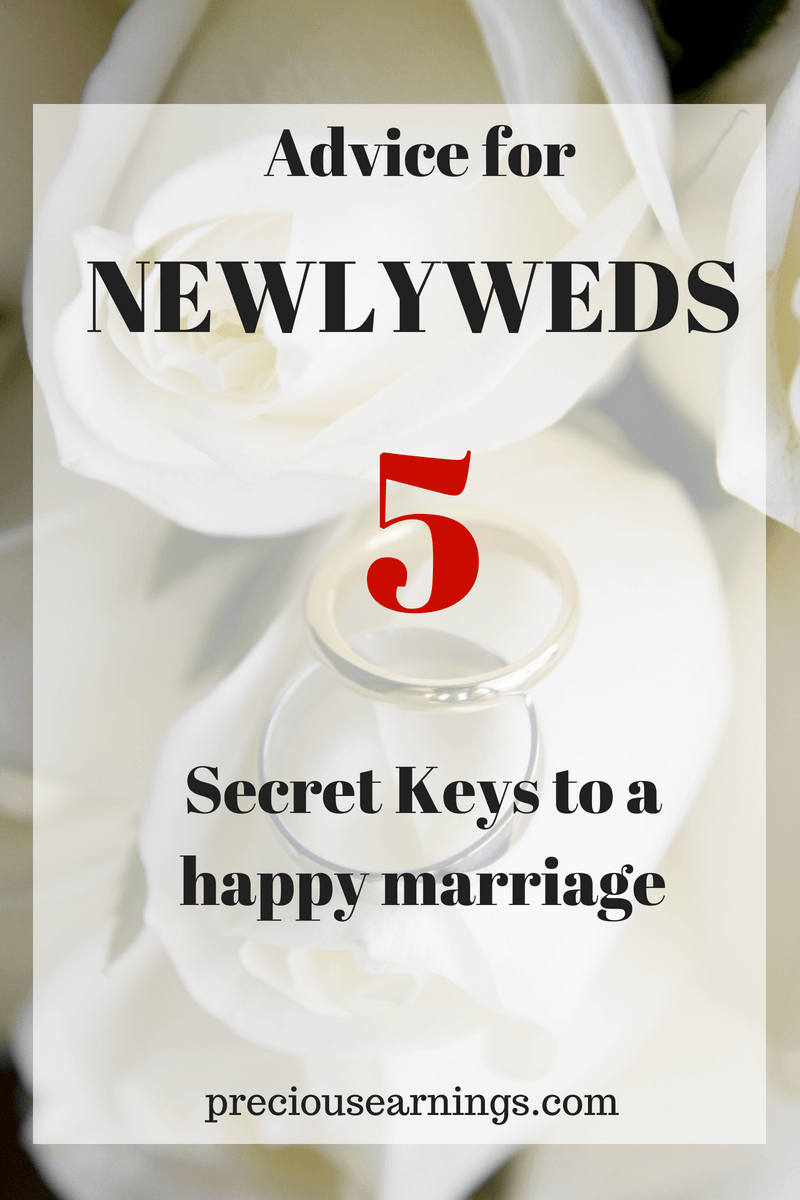 Advice for newlyweds: 5 keys to a happy marriage