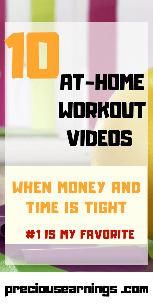 10 at home workouts when money and time is tight
