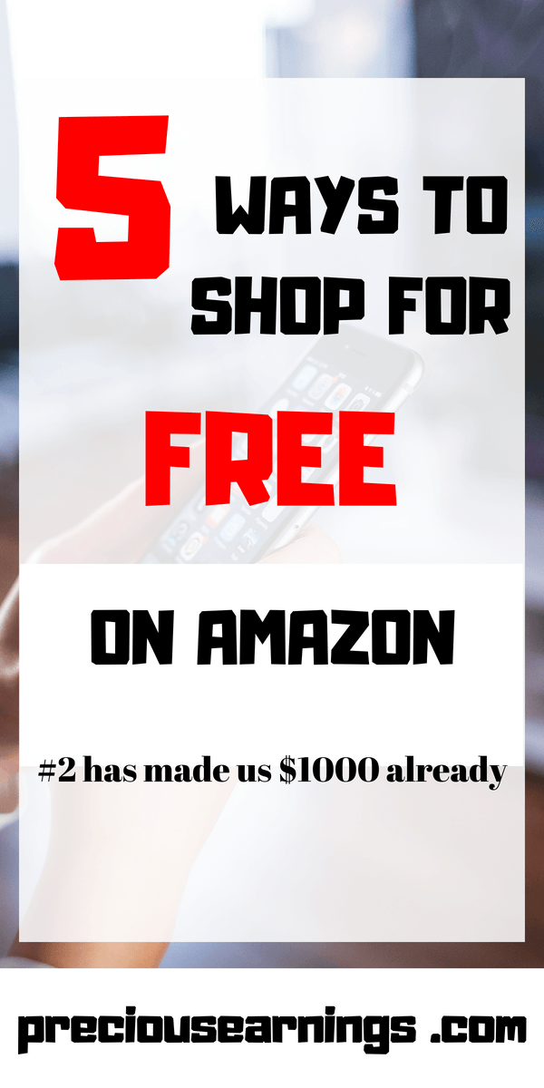 5 ways to shop for free on amazon $1000 made already