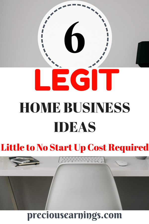 LEGIT Home business ideas you can start with no money