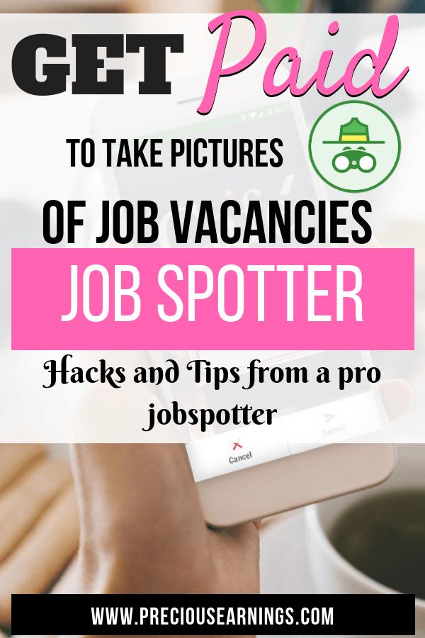job spotter uk review and hacks