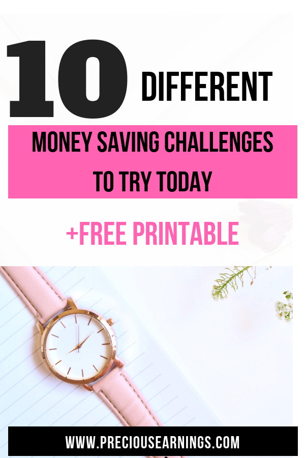 10 money saving challenges to try