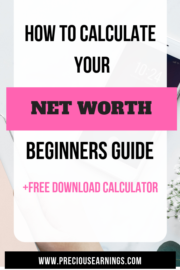 CALCULATE YOUR NET WORTH BEGINNERS GUIDE