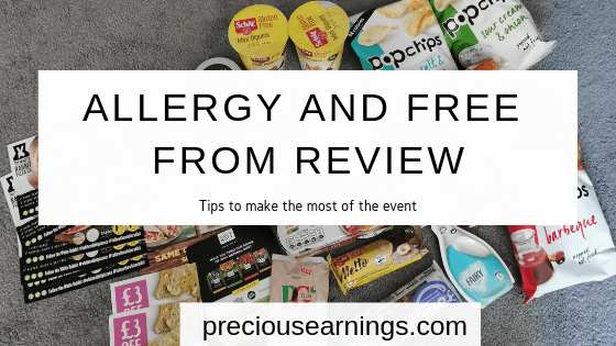 Allergy and Free From Review: Tips to make the most out of the event