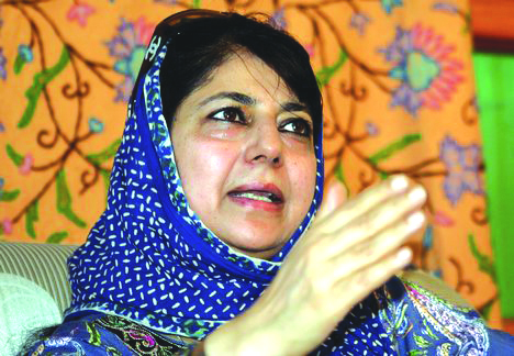 Mehbooba concerned over 'selective targeting' of tribal, other Muslim groups in Jammu