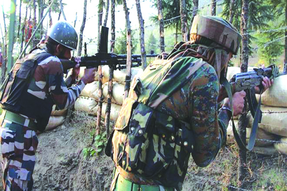 India, Pak armies exchange fire along LoC in Poonch, Kupwara