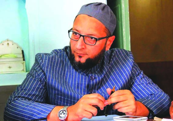 Owaisi slams move to introduce plastic bullets in JK
