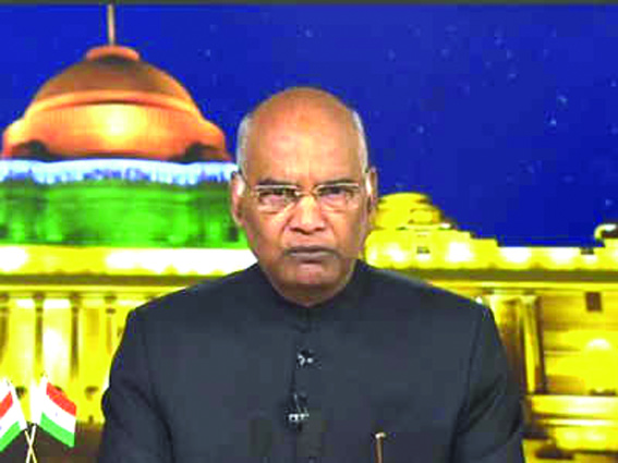 Perform sacred act of voting during LS polls: President urges people