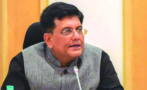 Piyush Goyal given additional charge of finance ministry