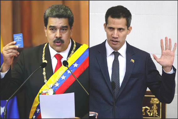 Venezuelan showdown moves to UN as dueling presidents dig in