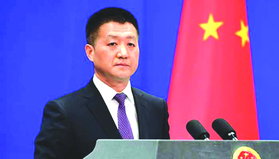 China urges India, Pakistan to 'exercise restraint'