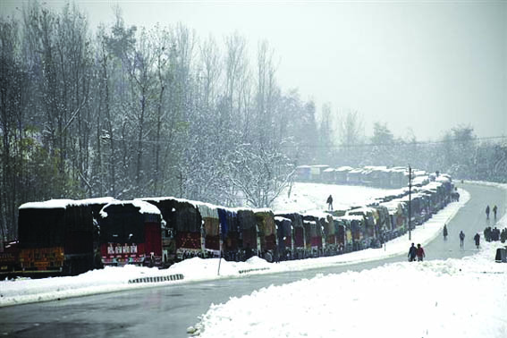 Day 7: Jammu-Srinagar highway remains closed