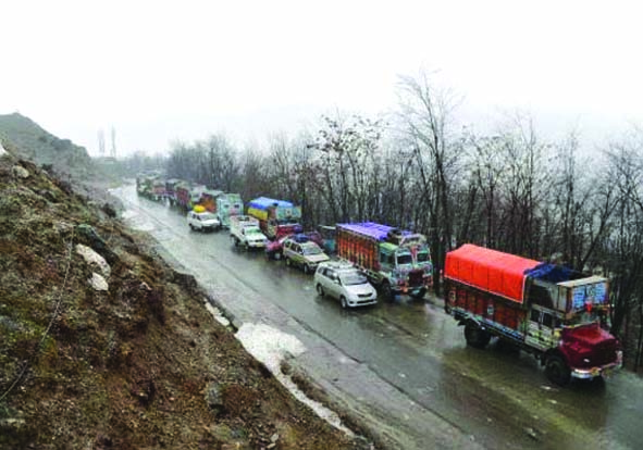 Despite Improvement In Weather, Only One-Way Traffic Continues On Highway